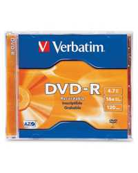 DVD-R VERBATIM 120MIN 16X 4.7GB BLUE METAL
