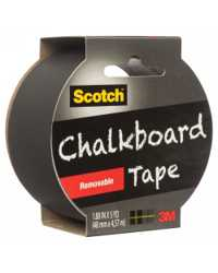 TAPE MASKING SCOTCH 48MMX4.57M CHALKBOARD 1905R-CB-BLK BLACK