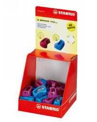 SHARPENER STABILO MOVE EASY ERGO DISPLAY