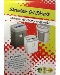 SHREDDER OIL SHEETS GOLD SOVEREIGN PK12