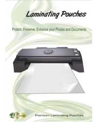 LAMINATING POUCHES GOLD SOVEREIGN 60X83MM 150 MICRON PK100