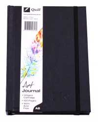 JOURNAL QUILL ART A6 H/C 125GSM ELASTIC CLOSURE 60LF