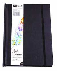 JOURNAL QUILL ART A5 H/C 125GSM ELASTIC CLOSURE 60LF