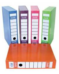 BOX FILE BANTEX F/CAP 70MM BLUEBERRY