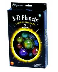 GREAT EXPLORATIONS GLOW 3D PLANETS