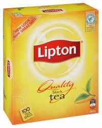 TEA BAGS LIPTON BLACK 100'S