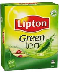 TEA BAGS LIPTON GREEN TEA 100'S