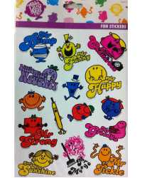 STICKERS MR MEN LITTLE MISS