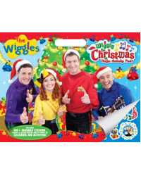 BOOK ACTIVITY PAD MEGA FMP THE WIGGLES A WIGGLY CHRISTMAS