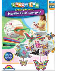 CRAFT FUNKY FUN BEAUTIFUL PAPER LANTERNS