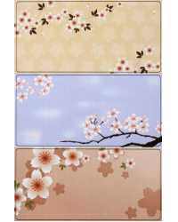 STICKERS AVERY PRINT OR WRITE CHERRY BLOSSOM